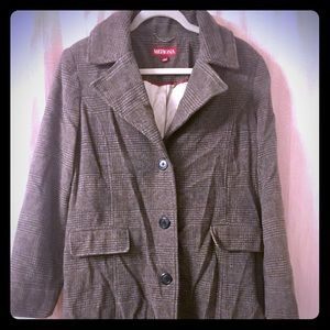 Women's Wool Blend Coat NWOT